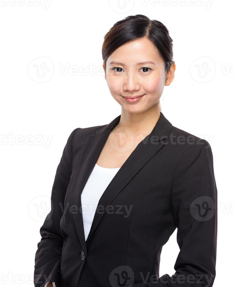 asiatisk affärskvinna foto