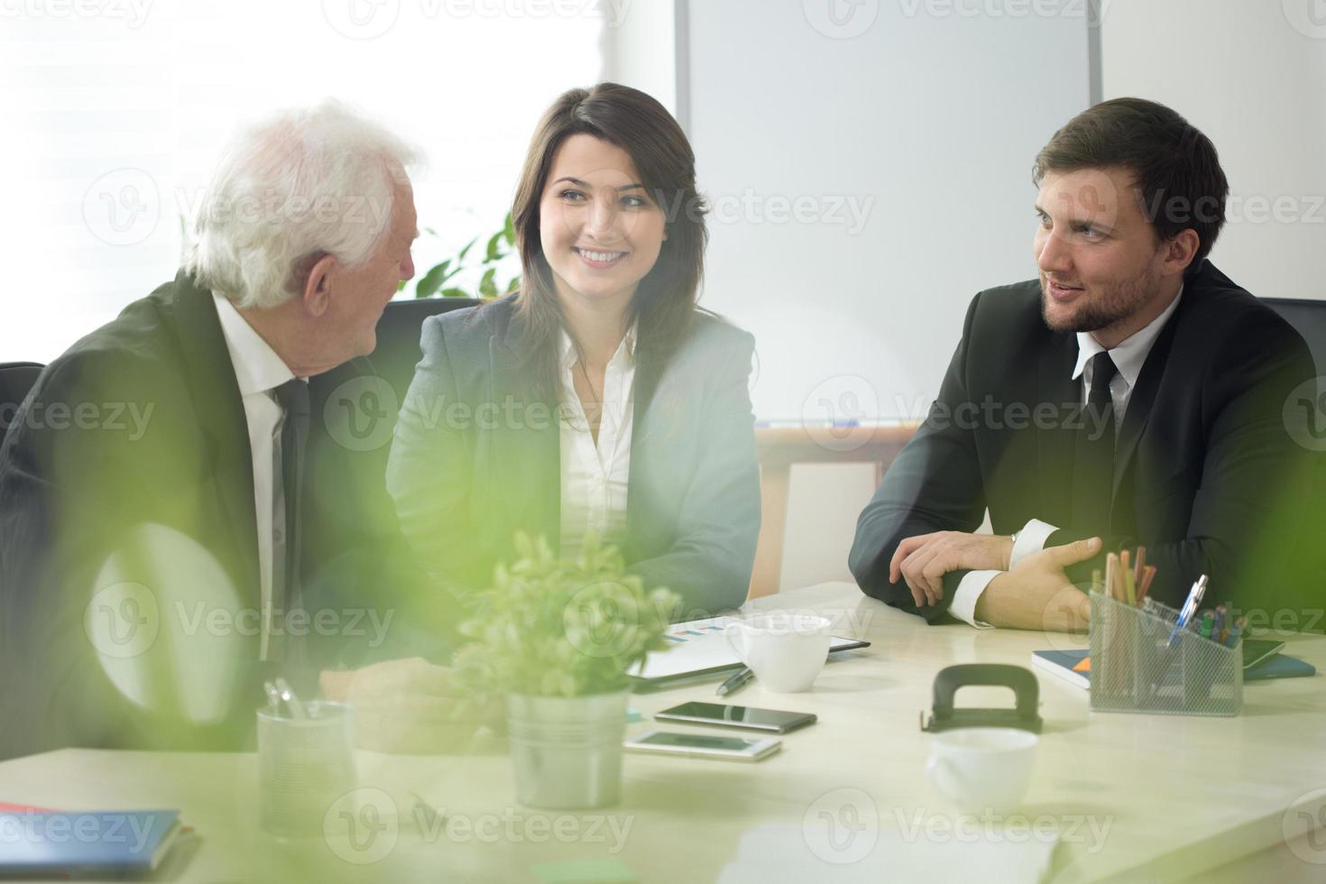 företagskonsultation foto