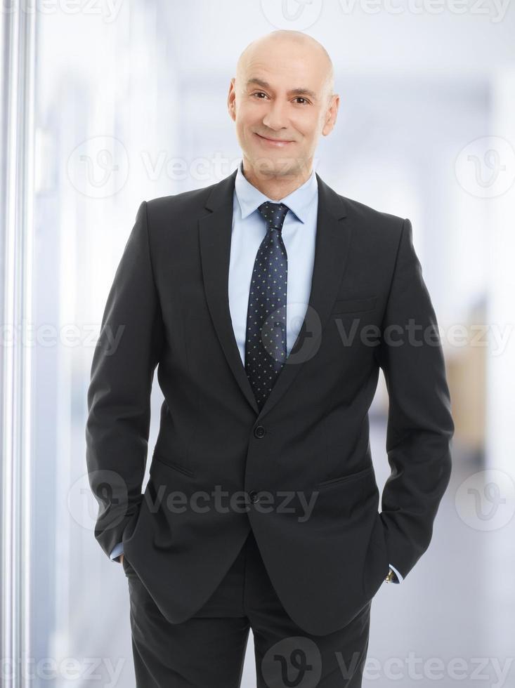 affärsman porträtt foto