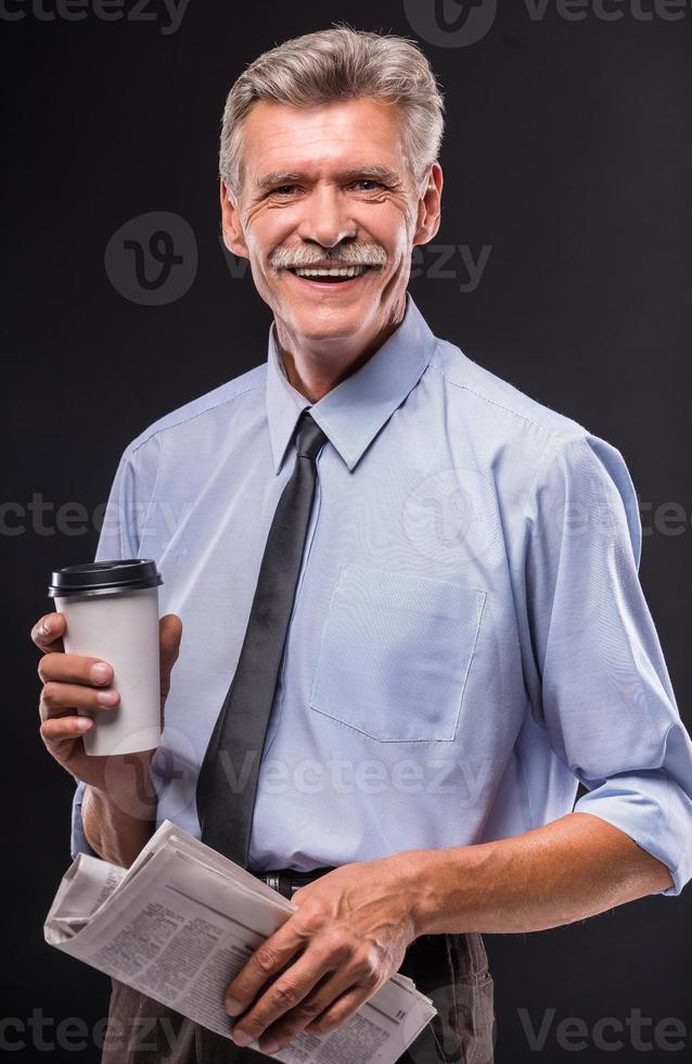 äldre man foto