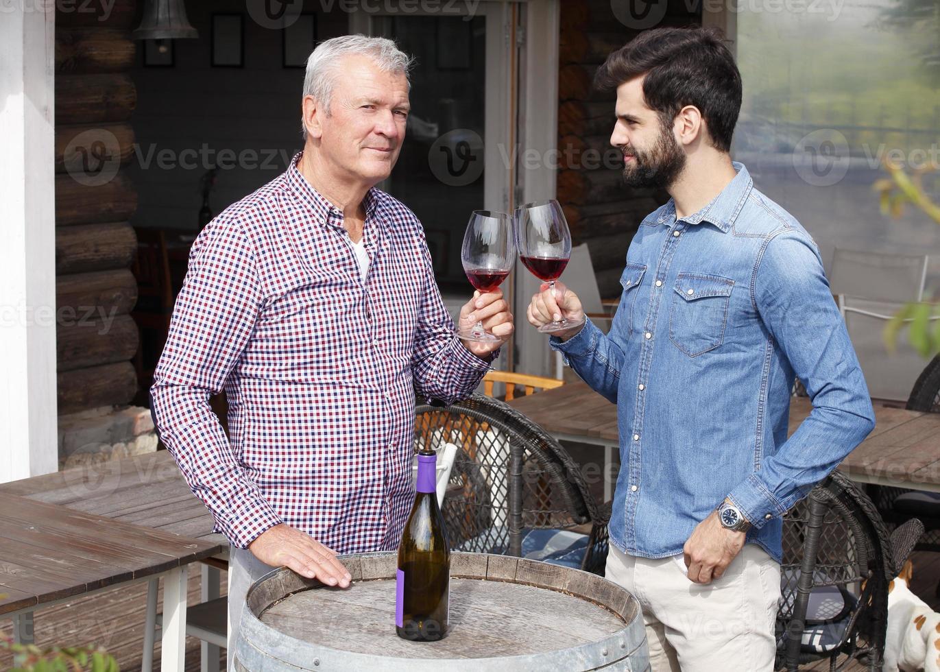 vinprovning foto