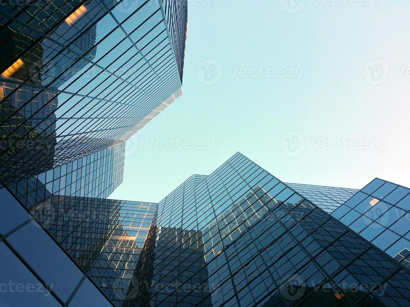 affärsdistrikt byggnader foto
