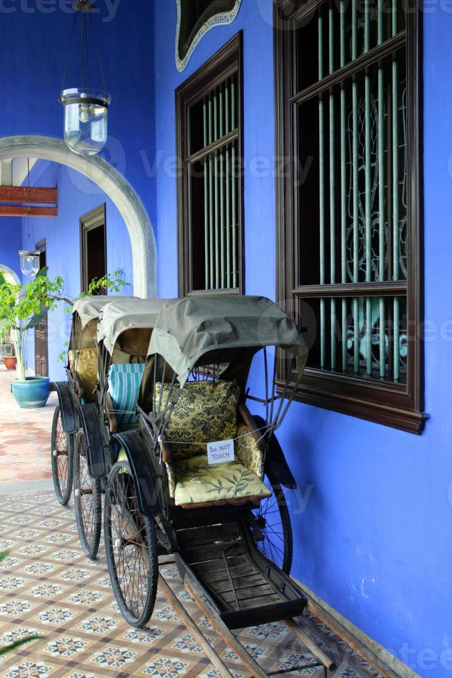 cheong fatt tze herrgård, penang, malaysia foto