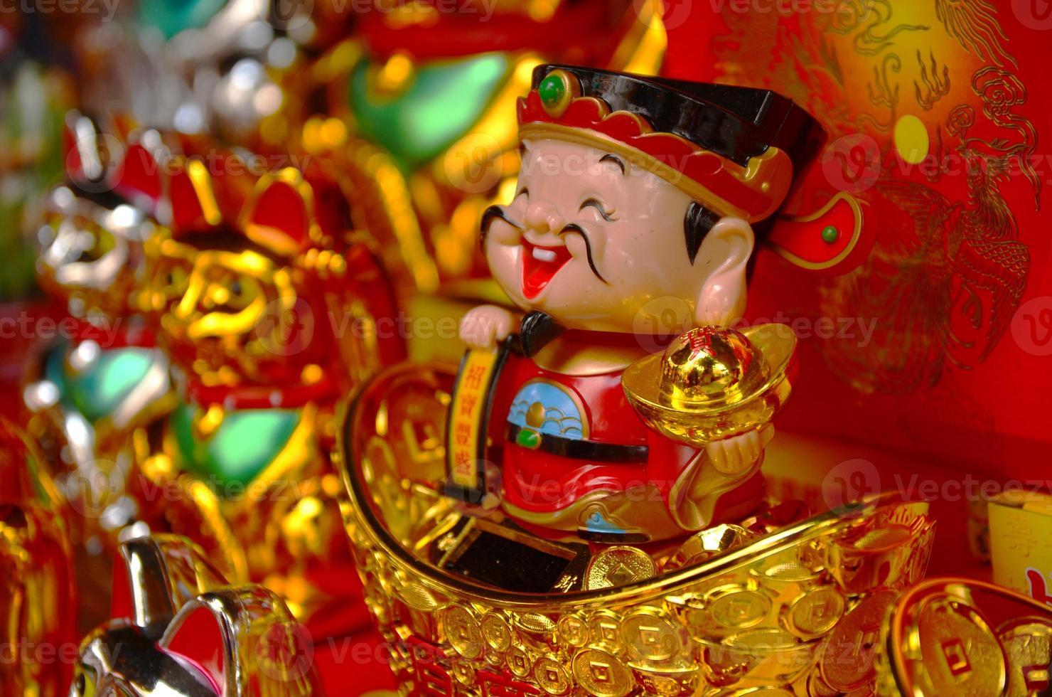 kinesiska nyårsdockor foto