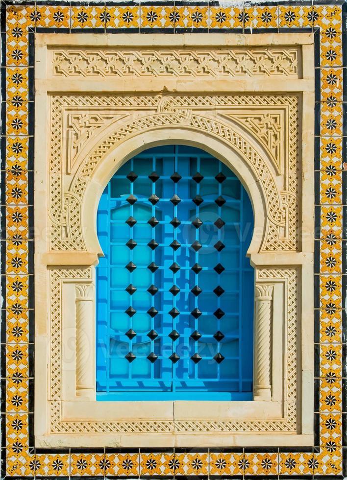 tunisia fönster foto