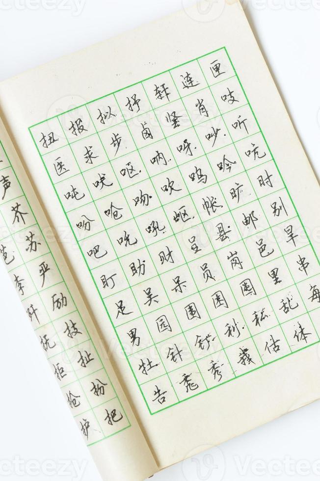 kinesisk kalligrafi foto