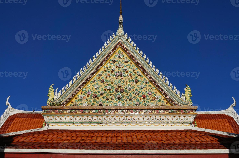 detalj av templet för gryningen foto