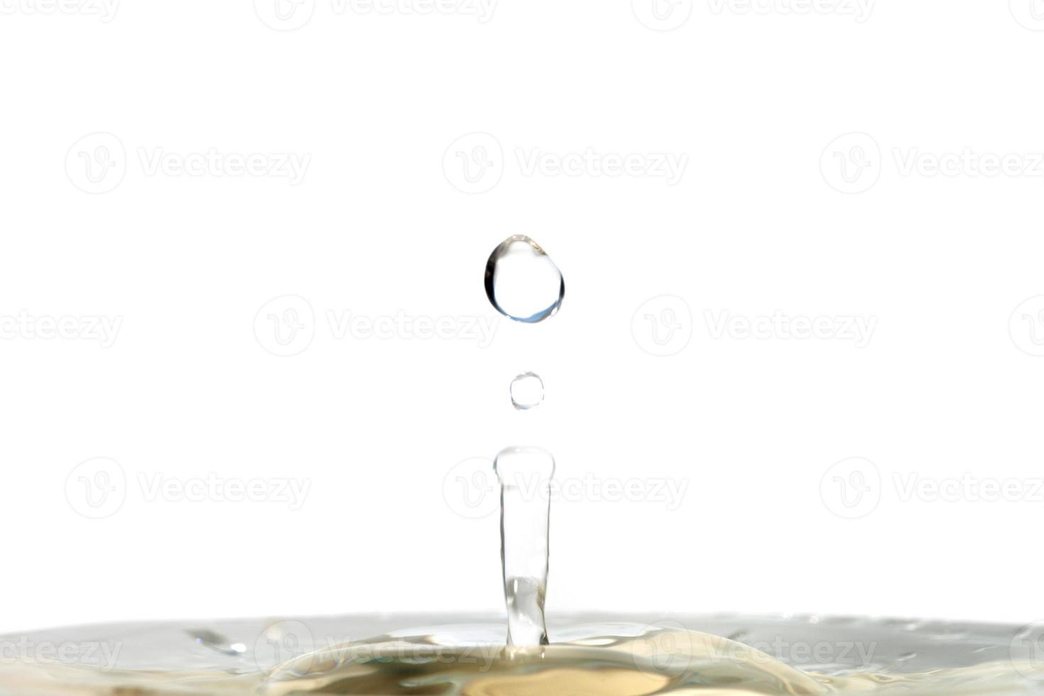 droppa vatten foto
