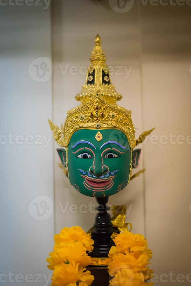 ansiktsgrön (Thailand) foto