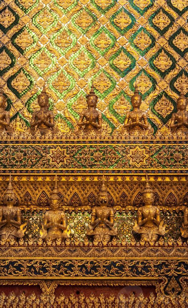 thailändsk skulptur foto
