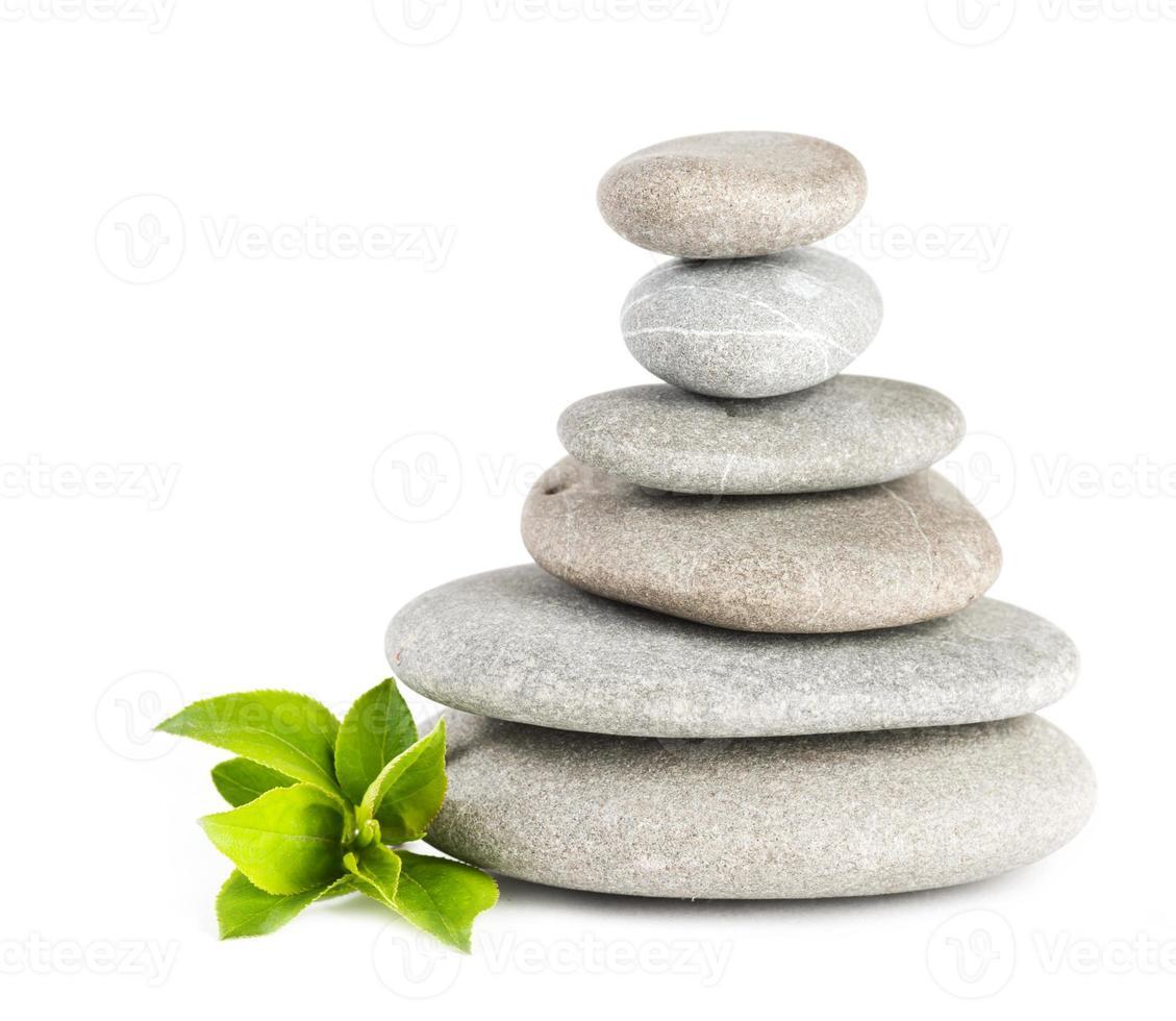 zen småsten balanserar. spa och hälso-koncept. foto