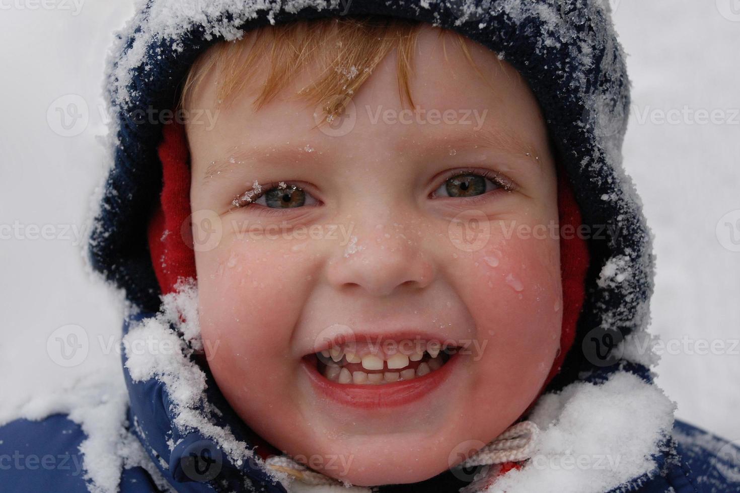 första snön foto