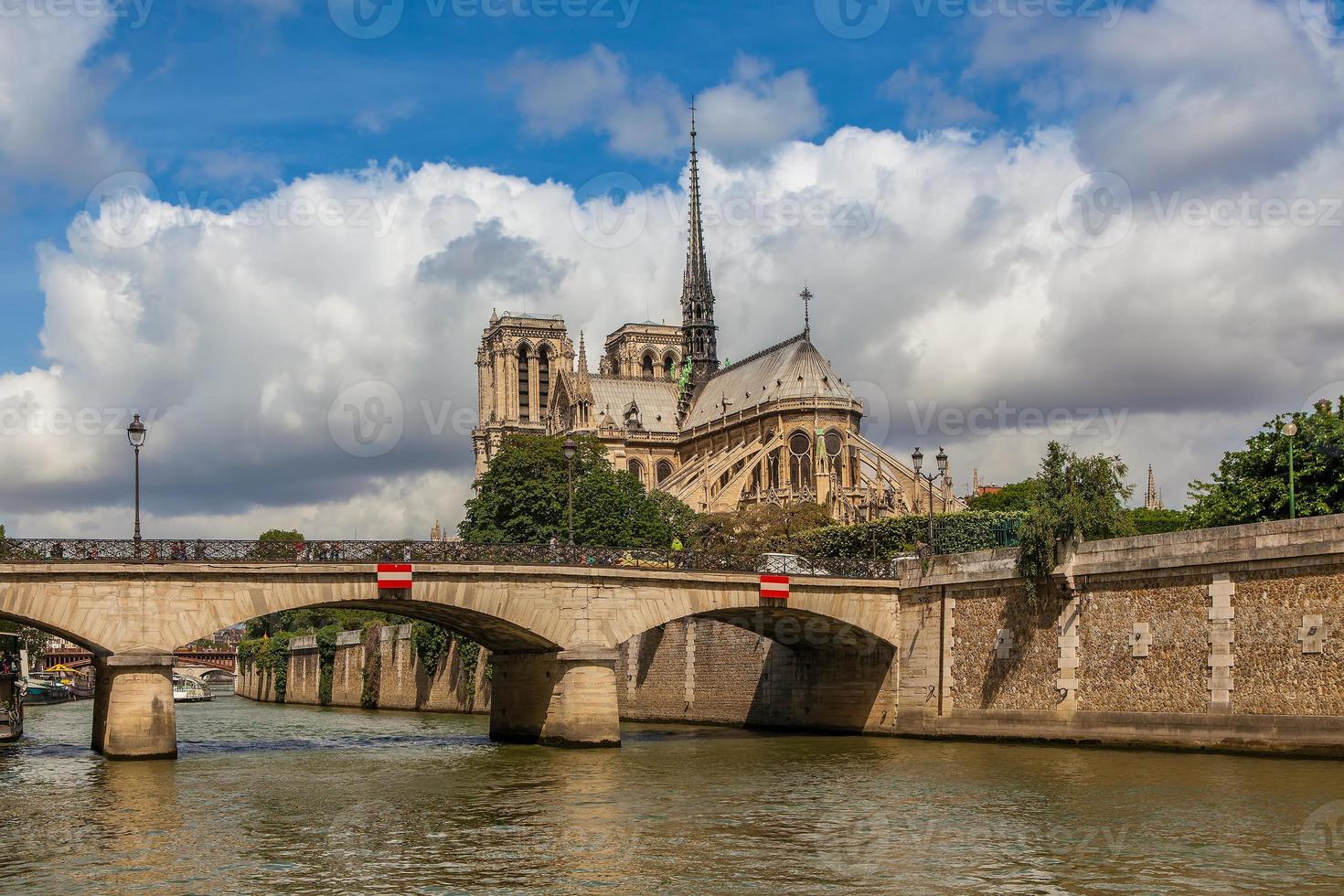 Notre Dame de Paris Cathedral. foto