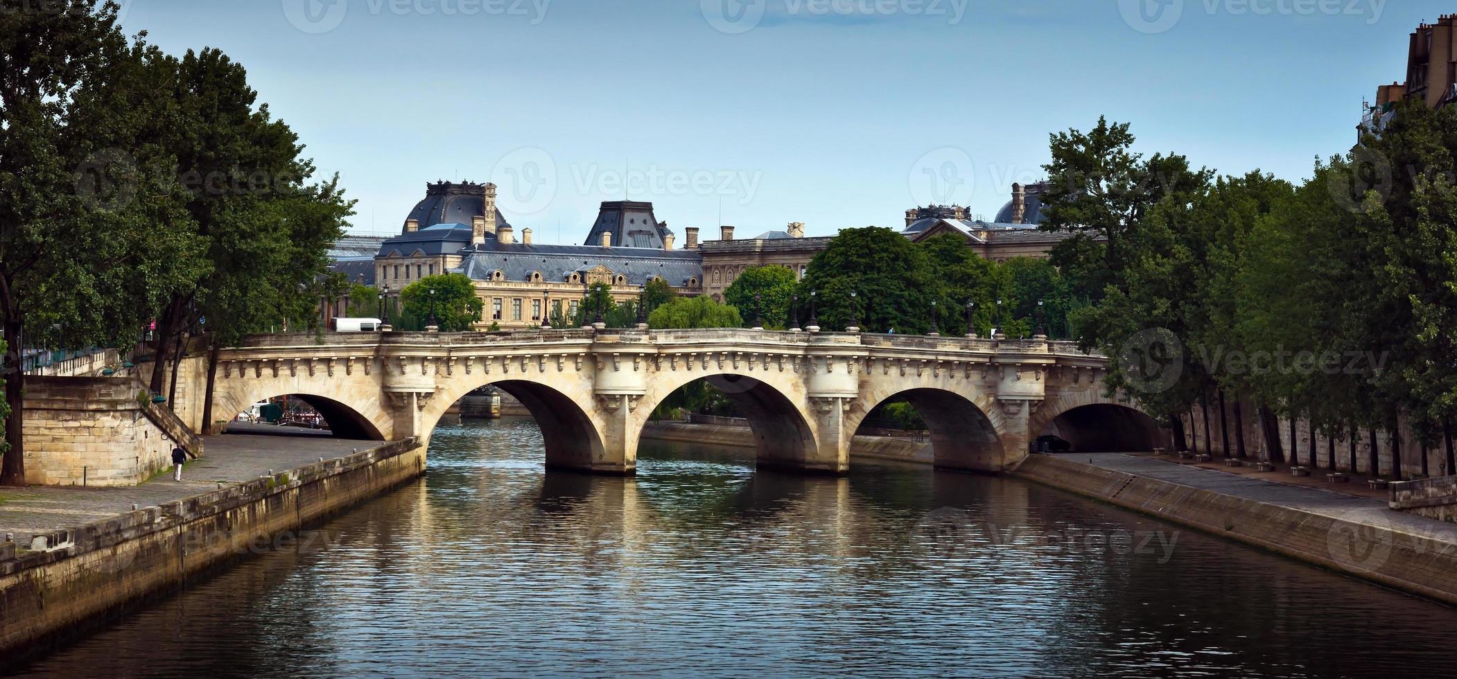 paris - fransk arkitektur foto