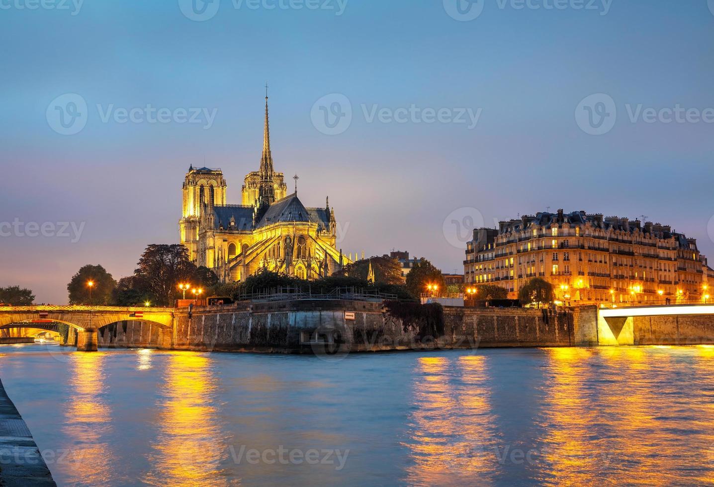 Notre Dame de Paris Cathedral foto