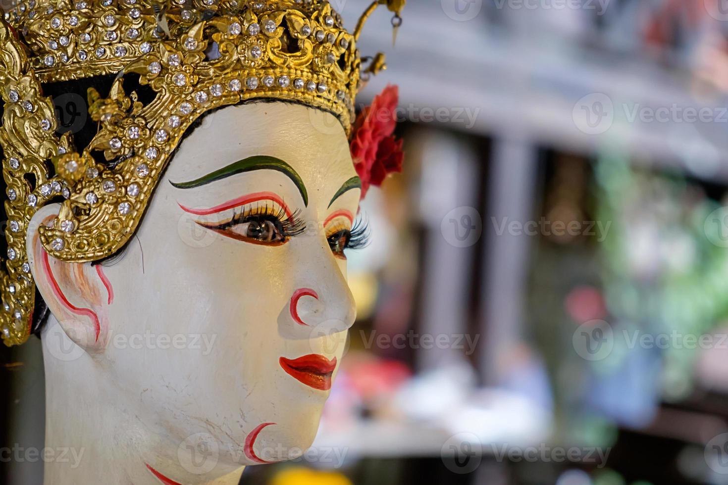 thailändsk traditionell docka, nationellt kulturarv foto