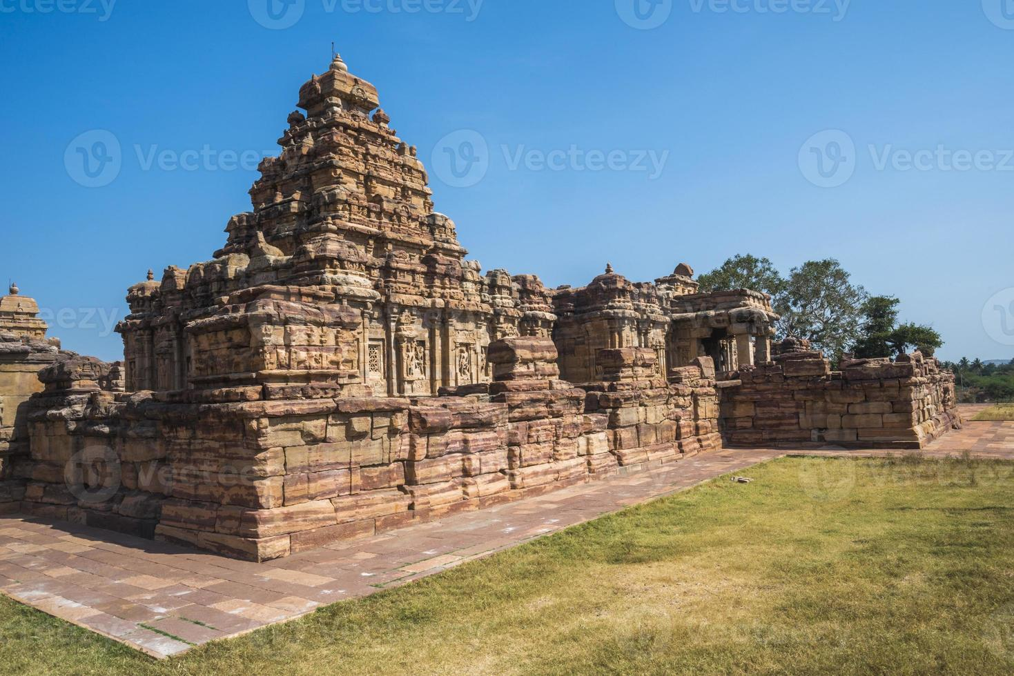 virupaksha tempel på pattadakal foto