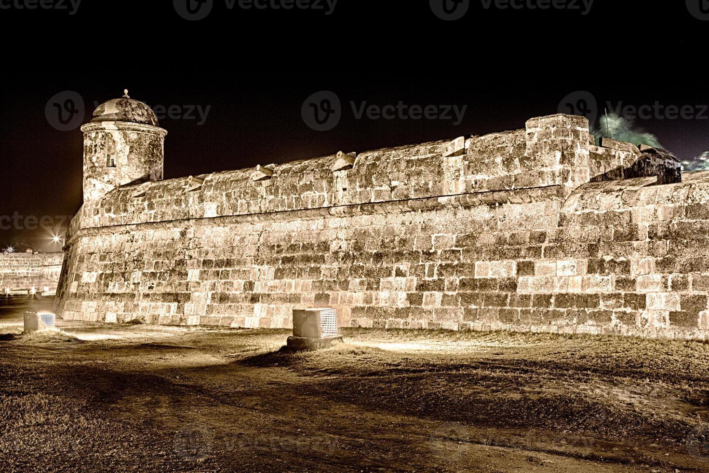 catagena stadsmur foto