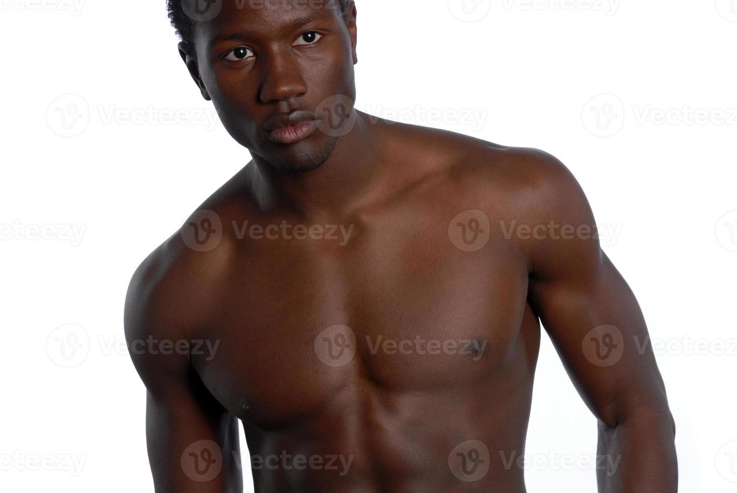 ung afrikansk amerikan man foto