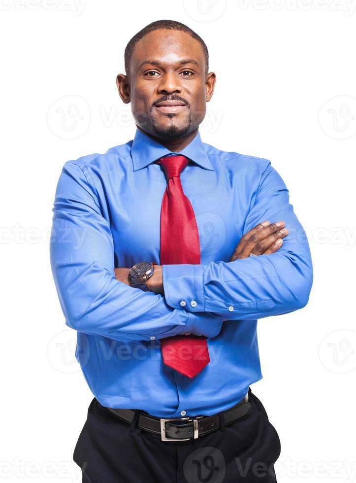 afrikansk affärsman foto