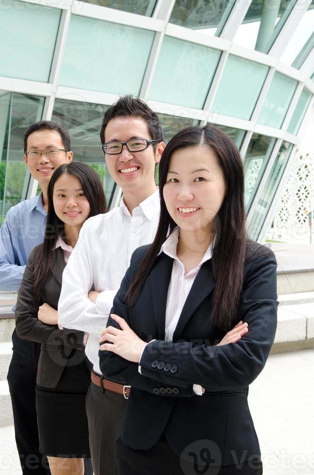asiatiska företagsledare foto