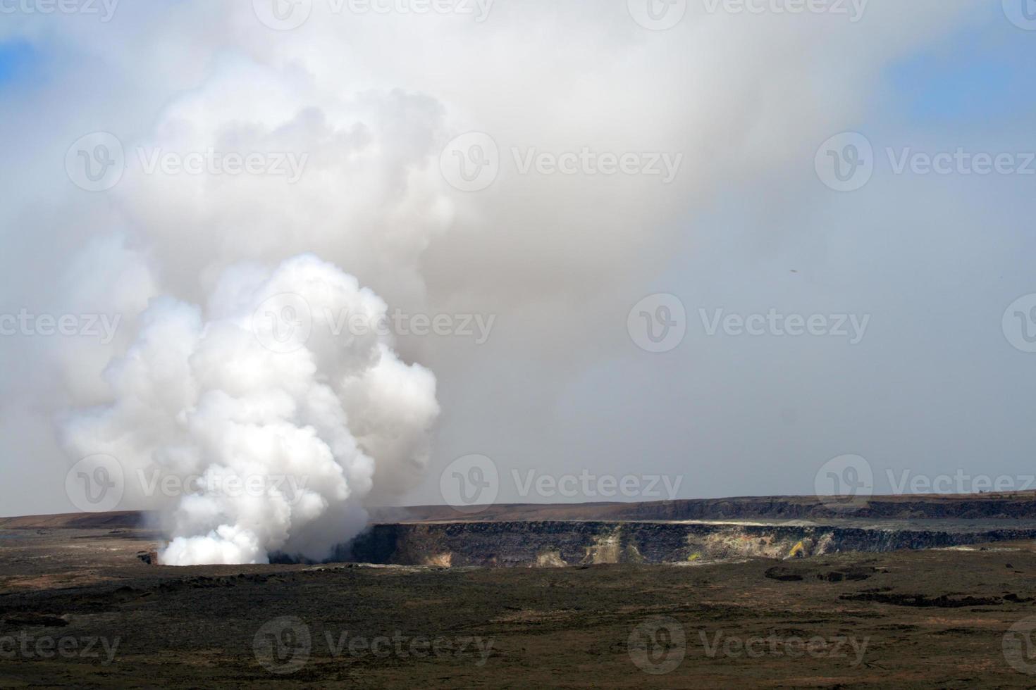 hawaii vulkaner nationalpark, usa foto