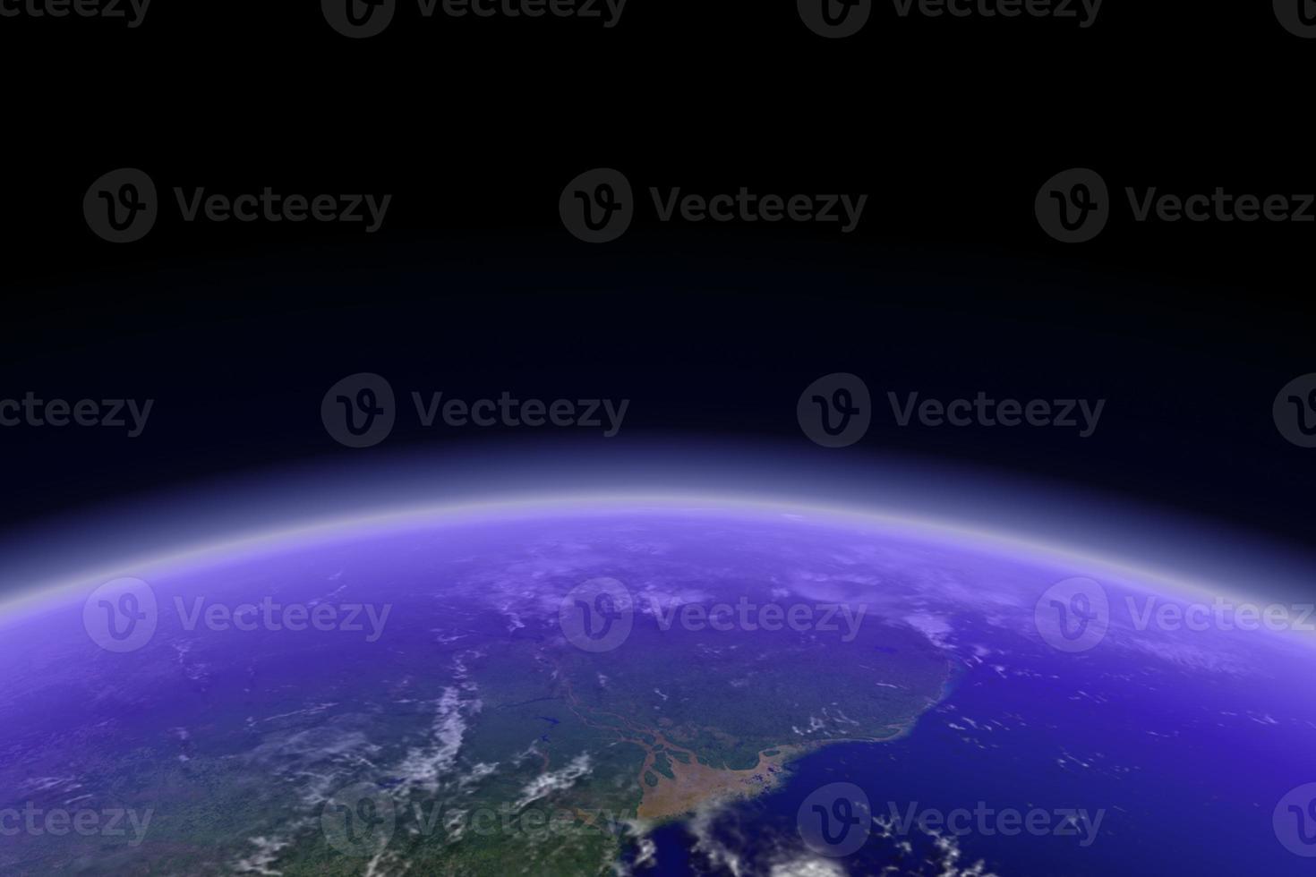 jorden horisont foto