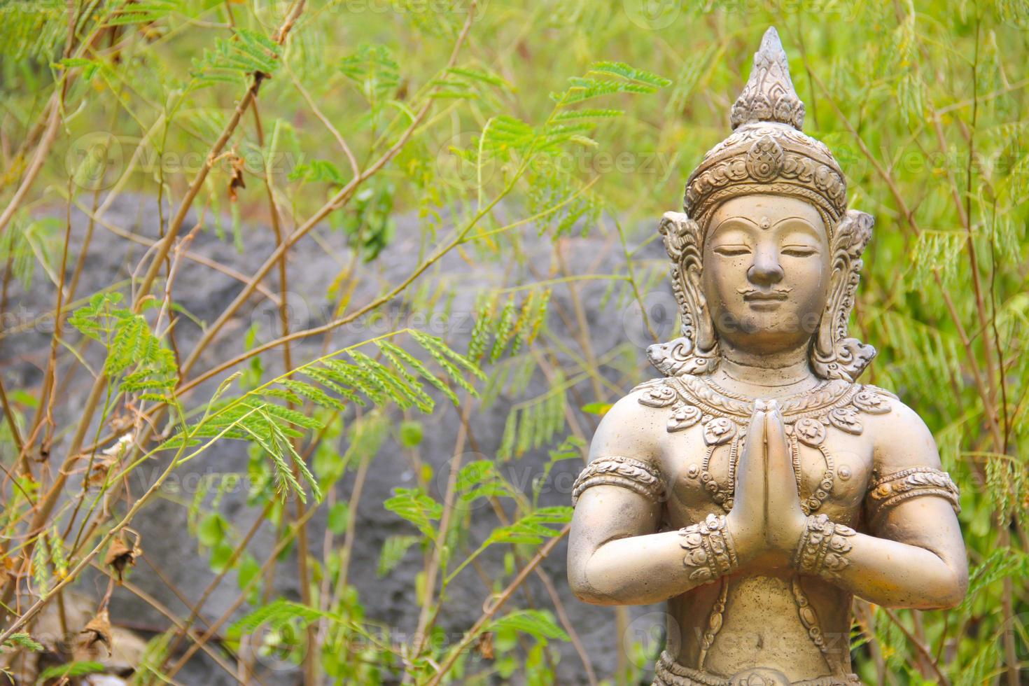 thai asiatisk skulptur foto