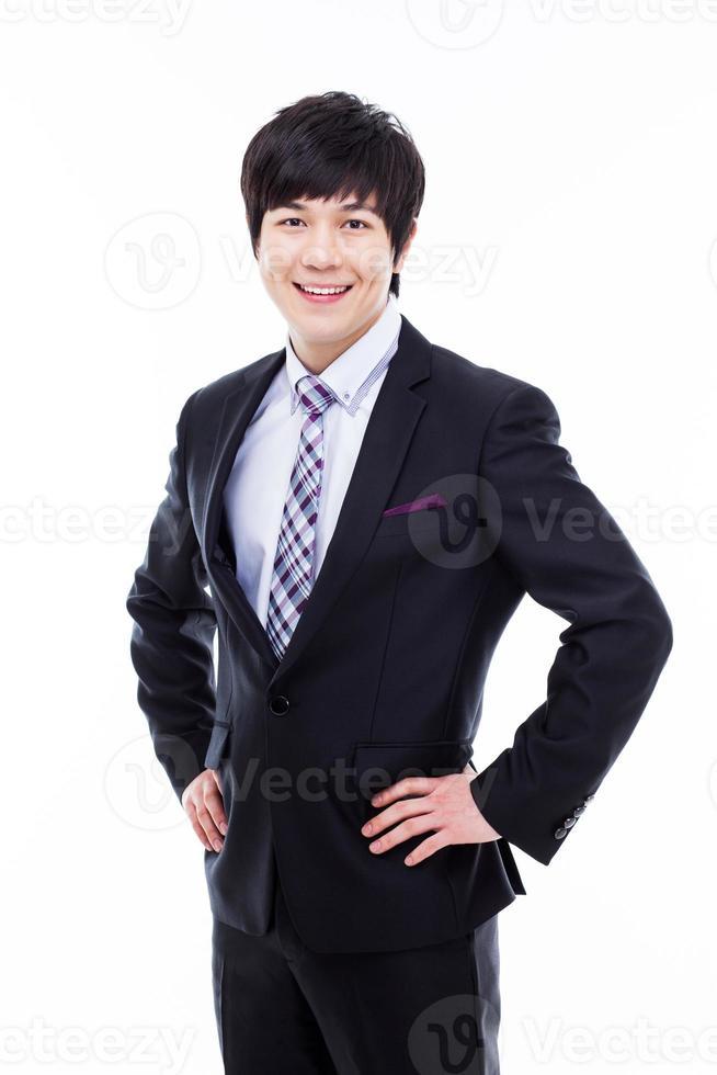 ung asiatisk affärsman foto