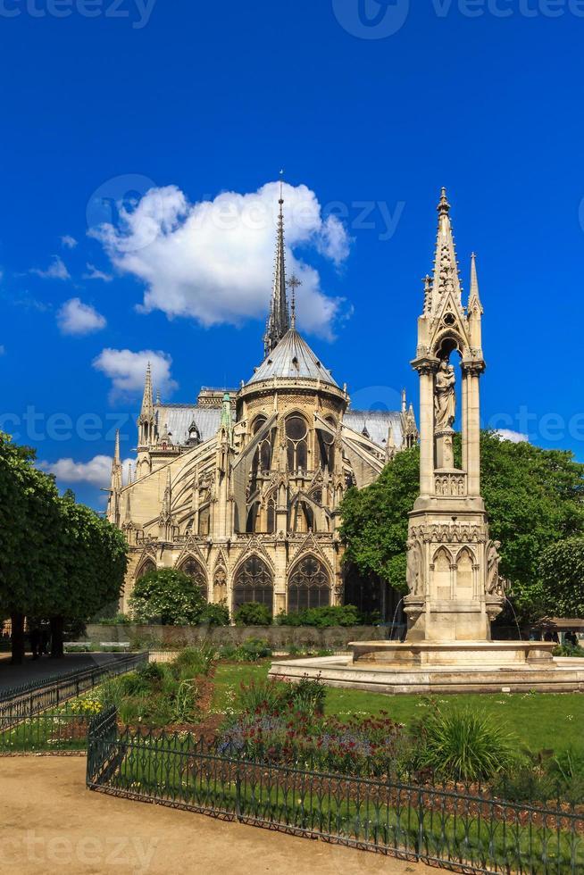 katedralen i Notre Dame de Paris foto