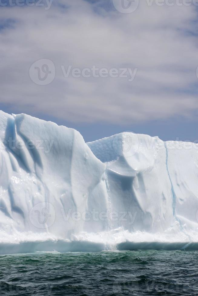 smältande isberg foto