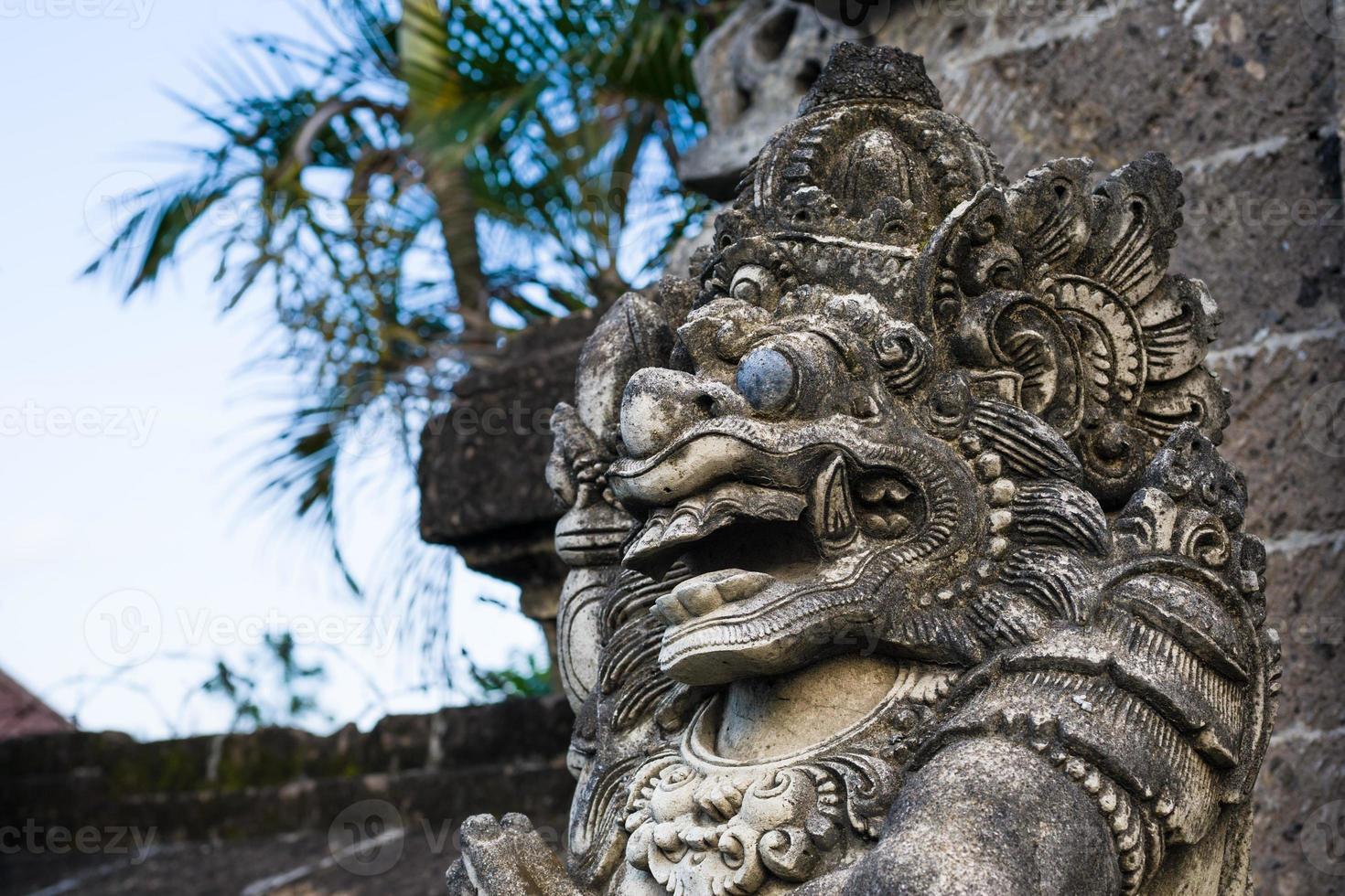 asiatisk gargoyle foto