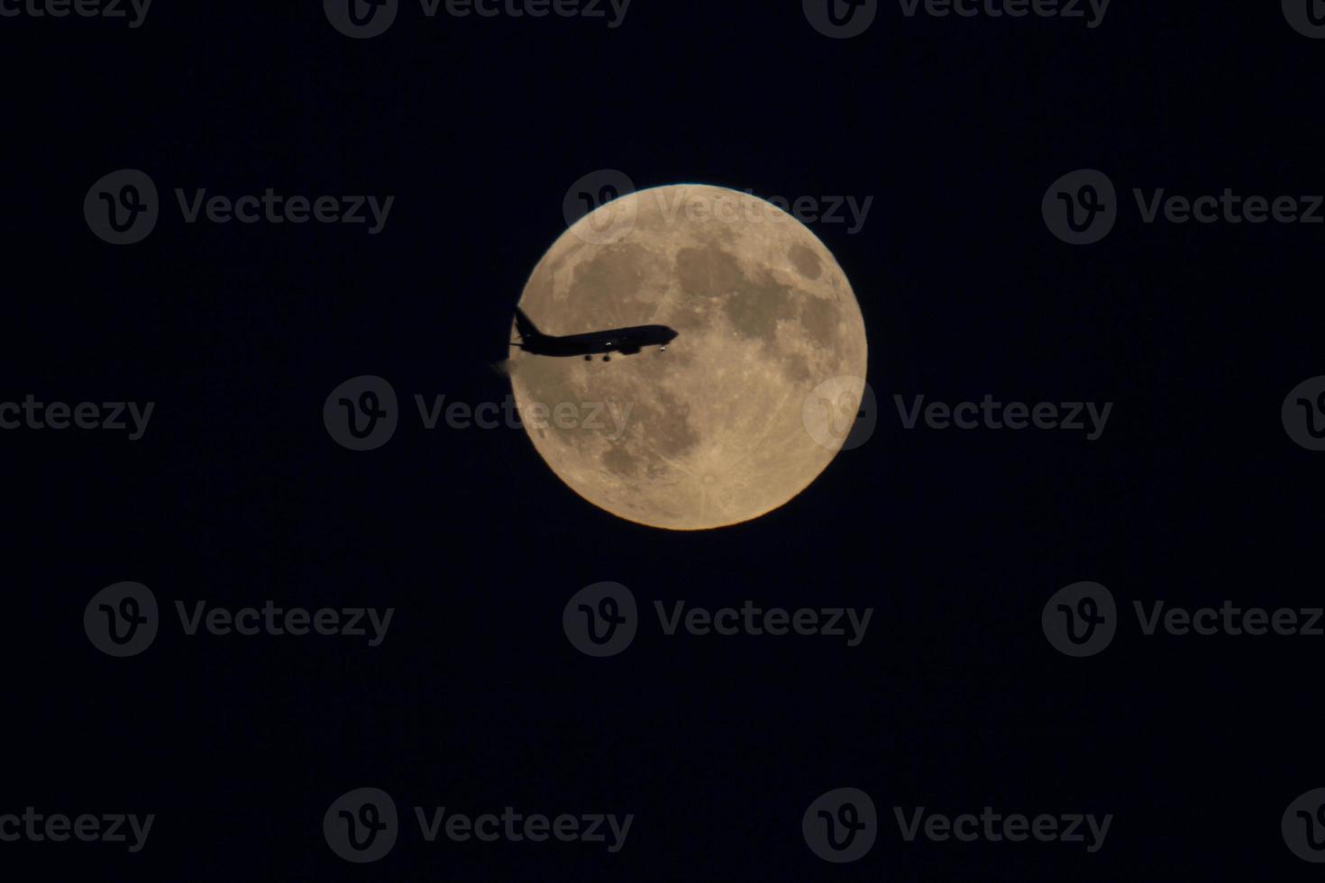 spektakulär fullmåne 27 september 2015 foto