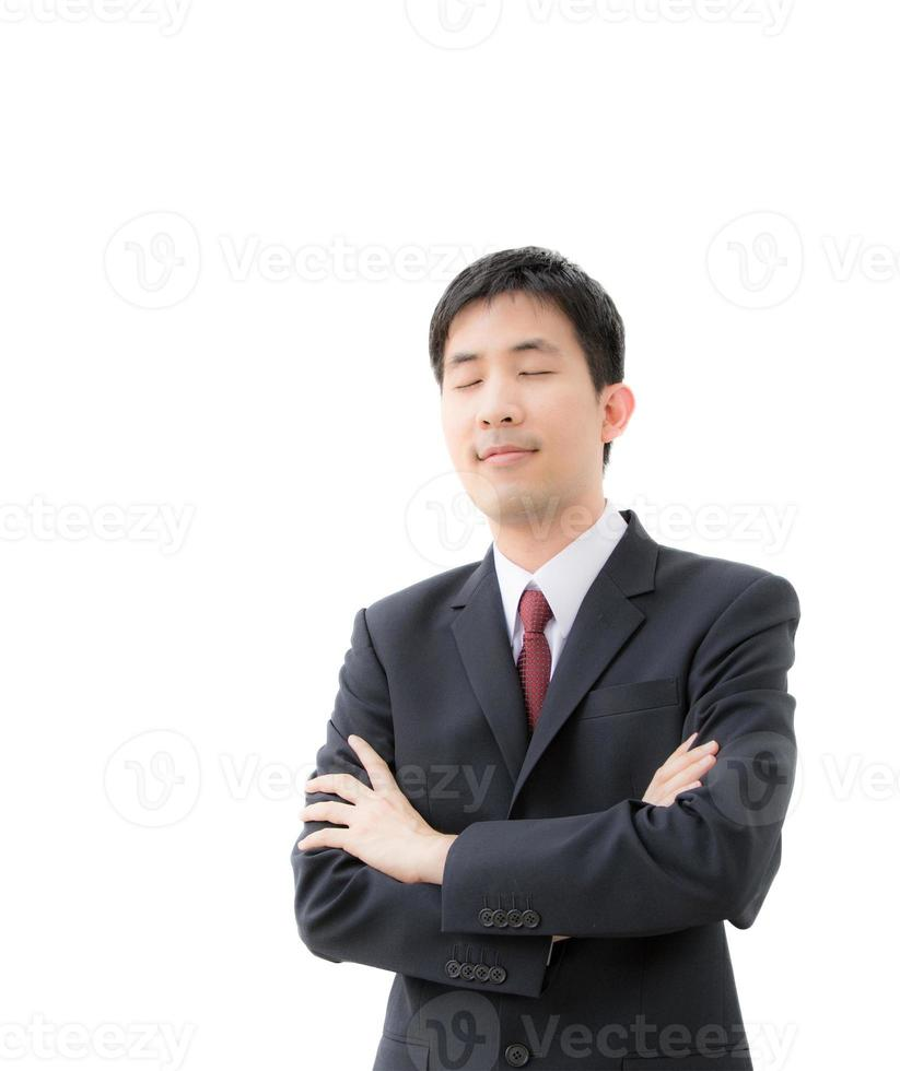 asiatisk affärsman foto