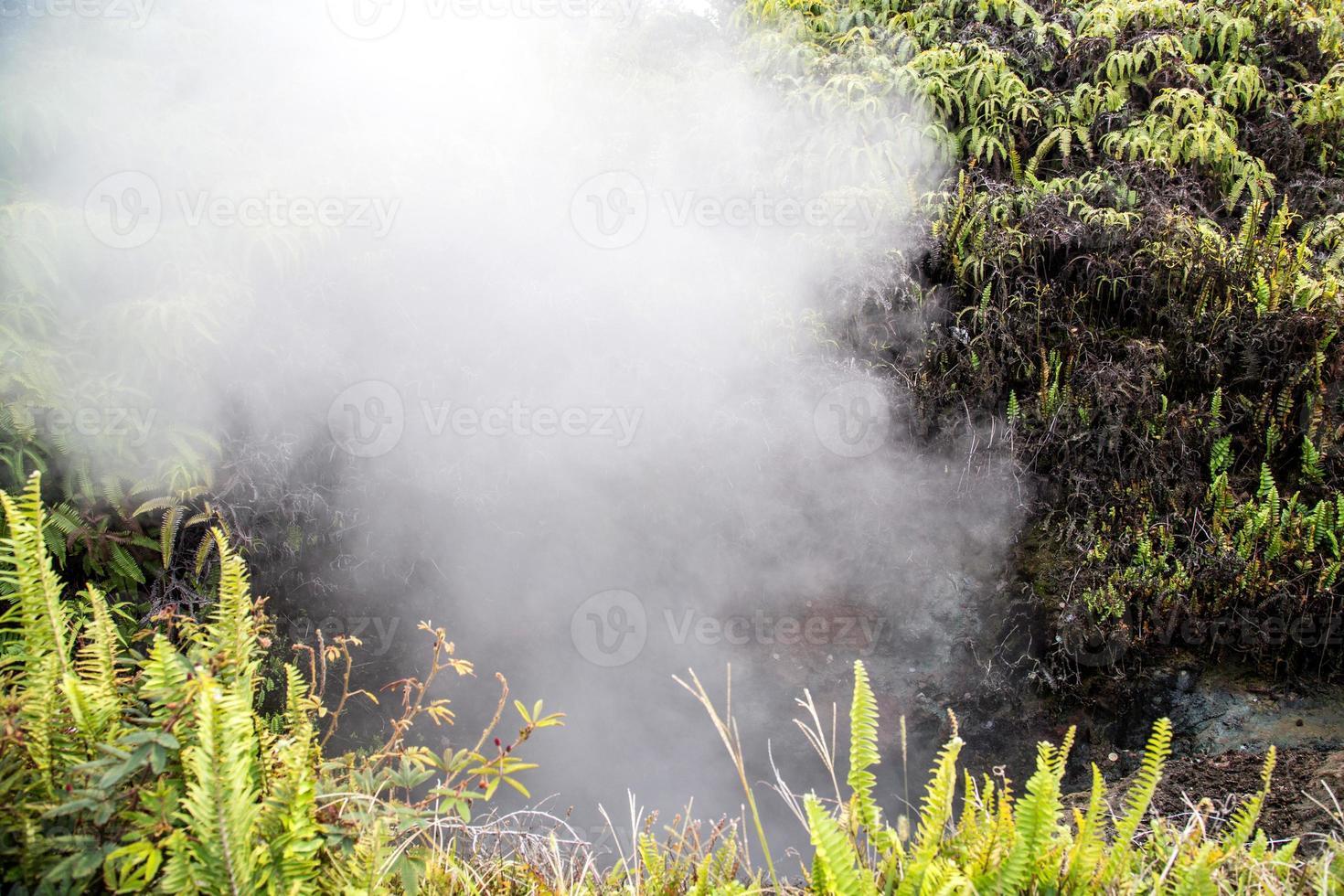 usa - hawaii - stor ö, vulkanernas nationalpark foto