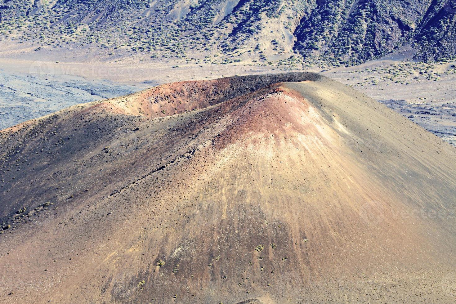 pu'u o maui krater foto