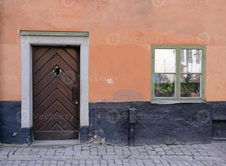 hus i gamla stan, stockholm foto