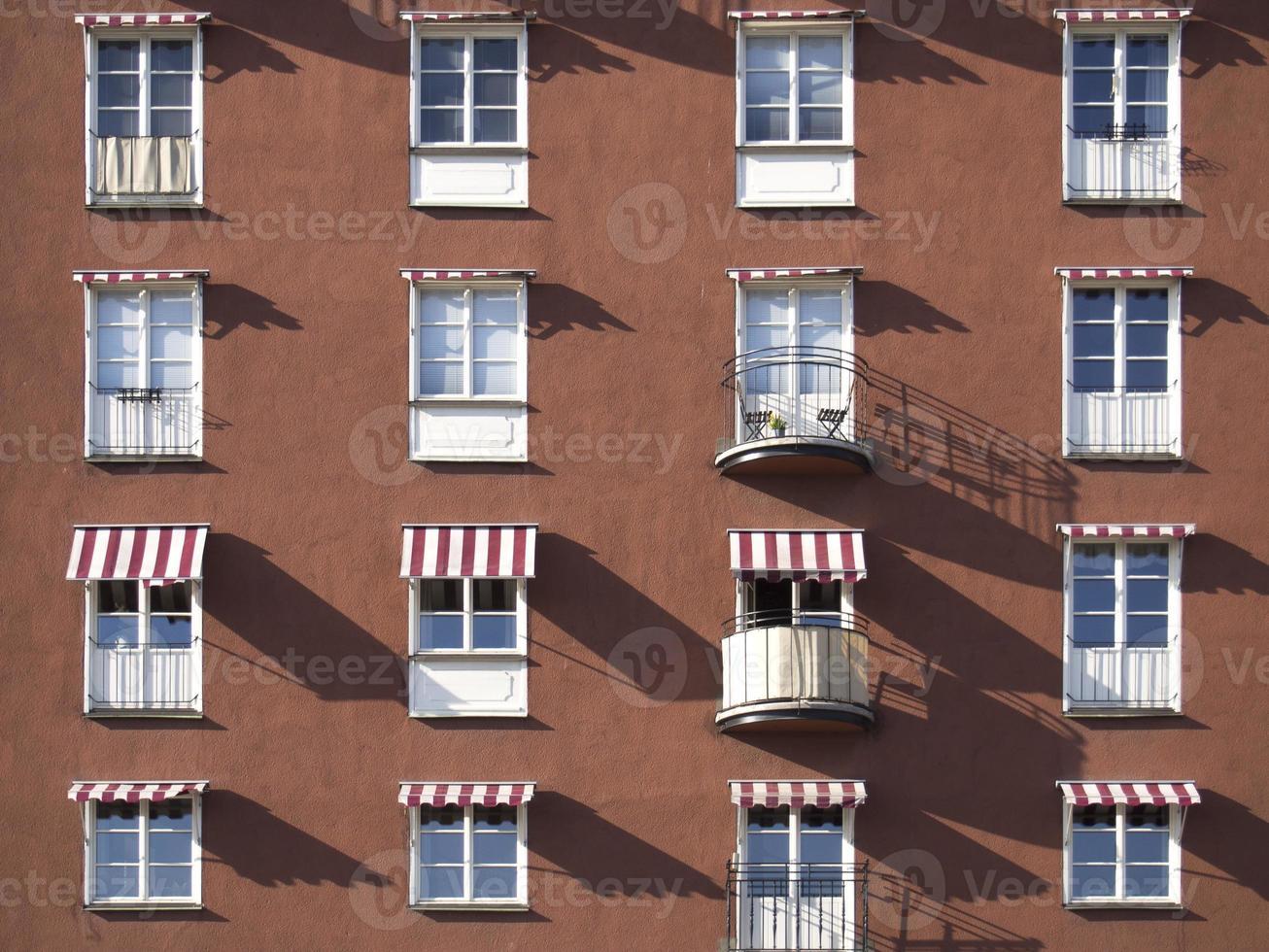 fönster och balkonger foto