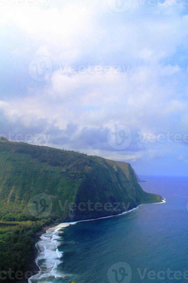 vackert naturlandskap i Hawaii foto