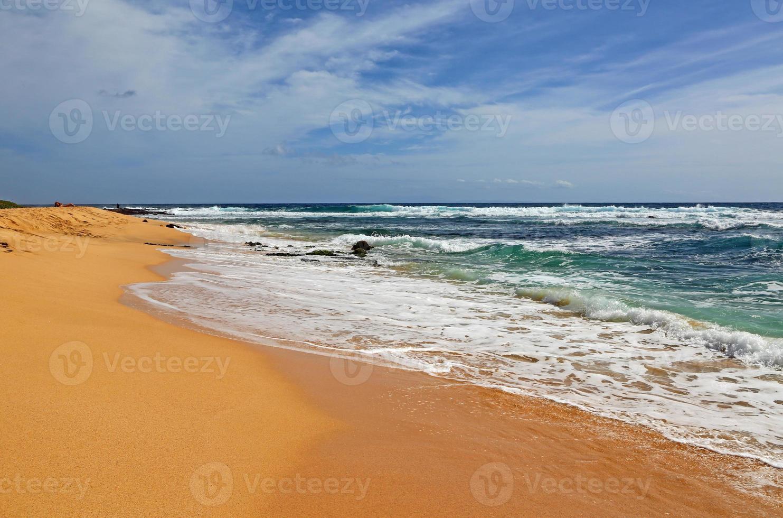 sandig strand foto