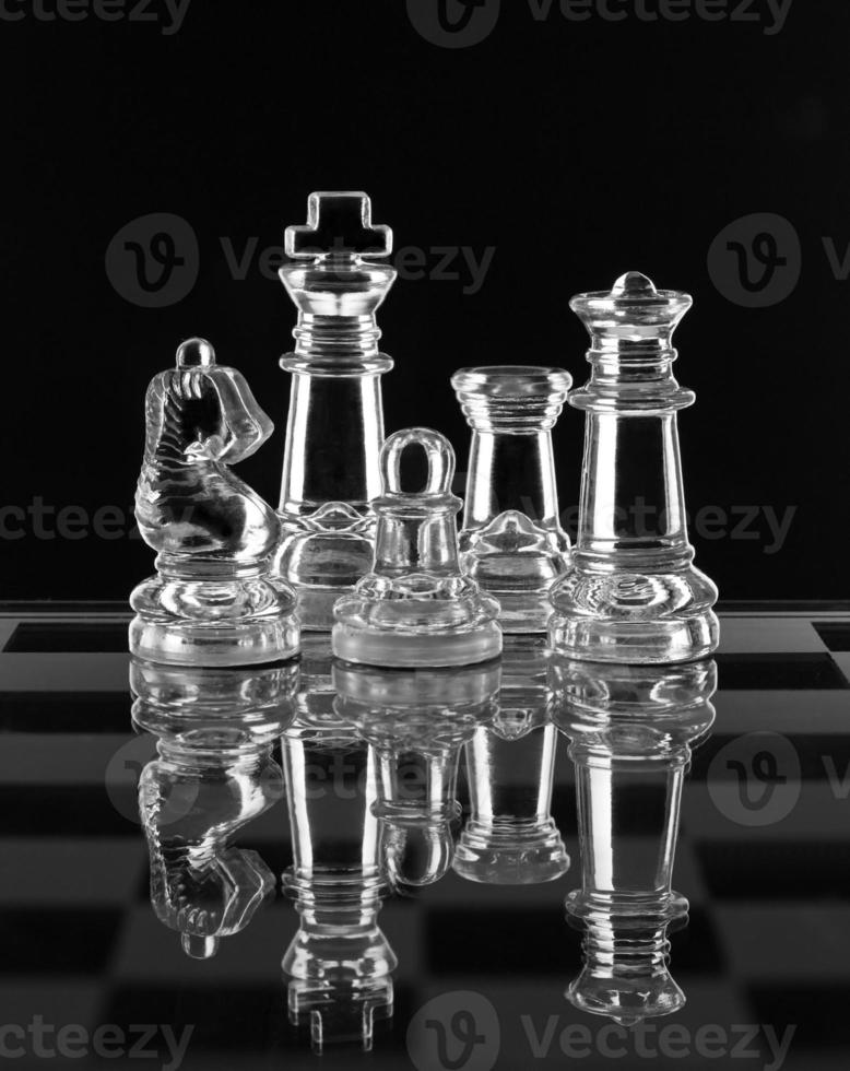 glas schack familj foto