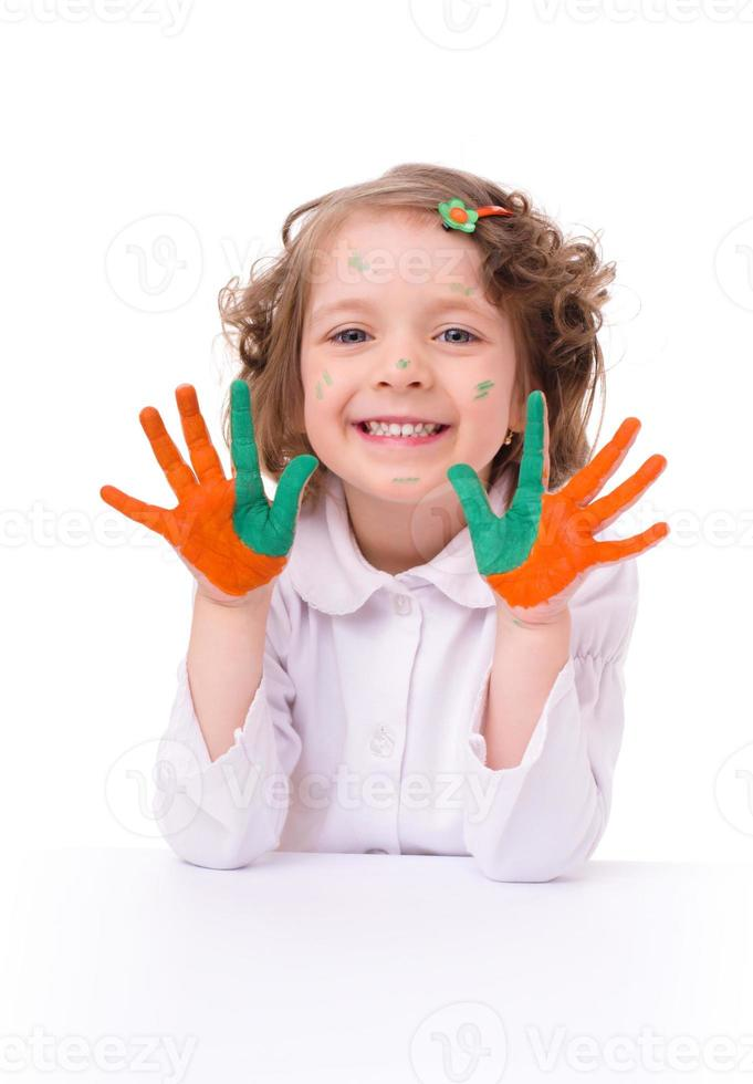 barnporträtt foto