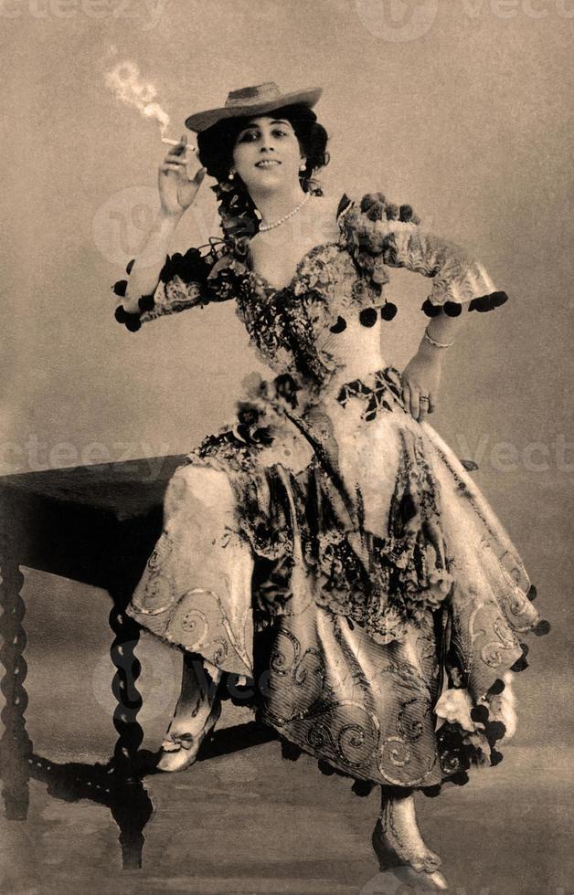vintage porträtt. foto