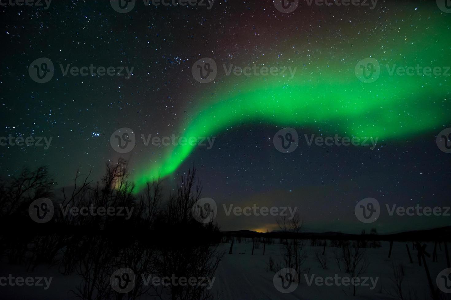 pleiades, hyades, aldebaran & aurora borealis ver 3 foto