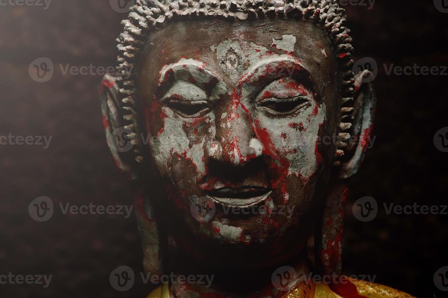 buddha porträtt foto