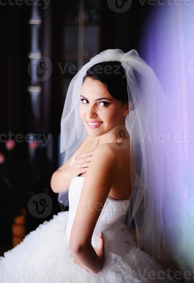 bröllop porträtt foto