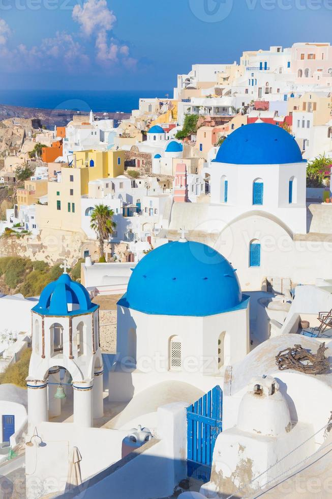 oia santorini ö, cyklader, Grekland foto