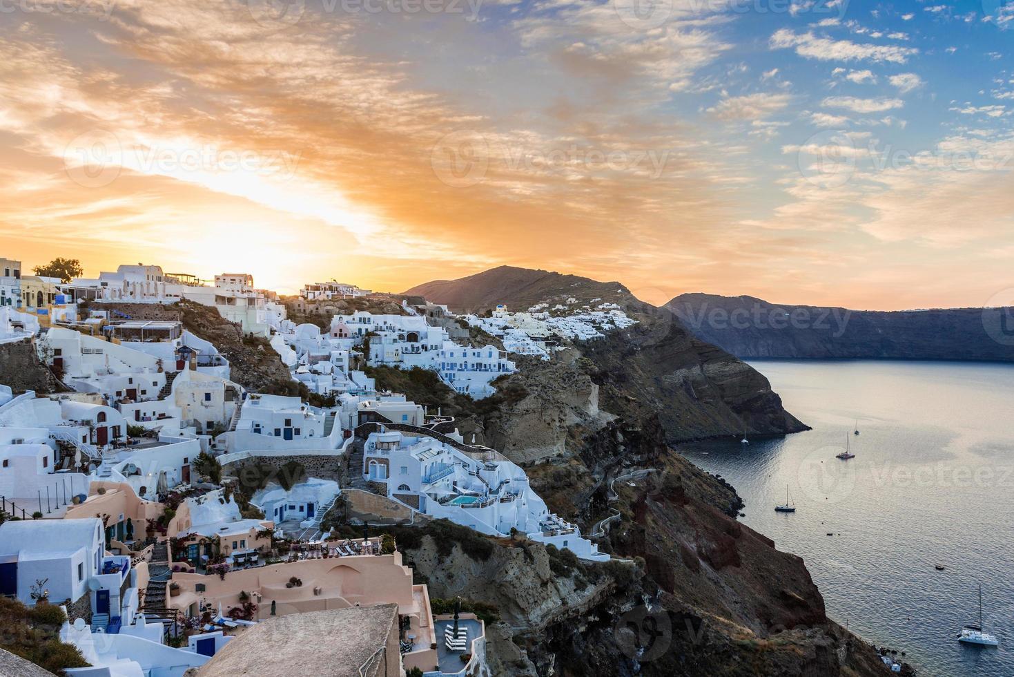 Santorini, Grekland foto