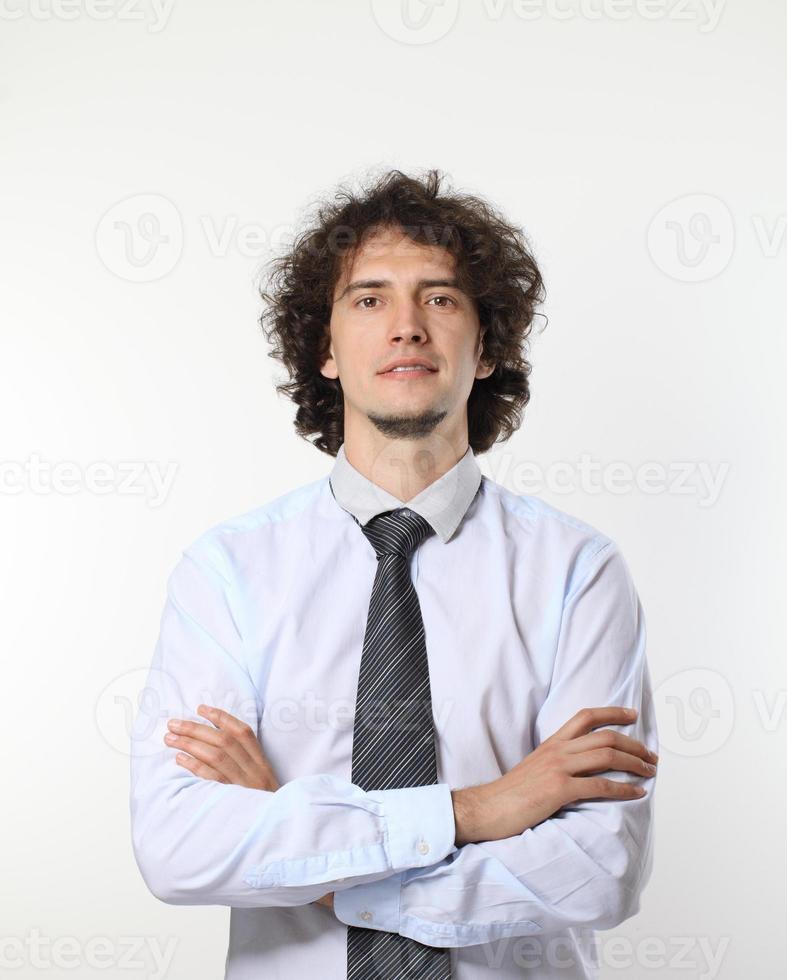 ung affärsman porträtt. foto