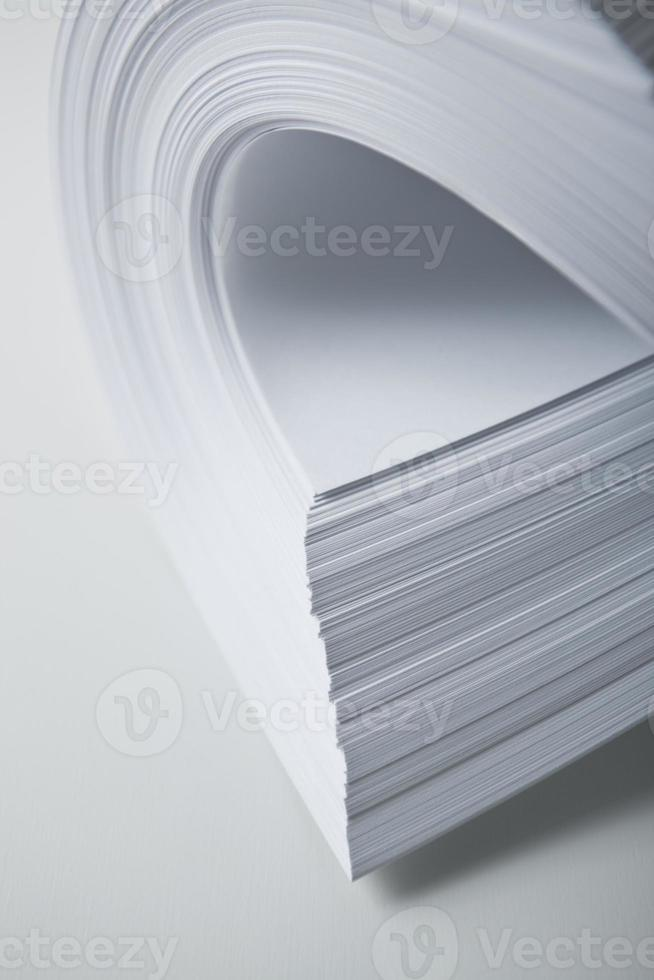 närbild papper foto